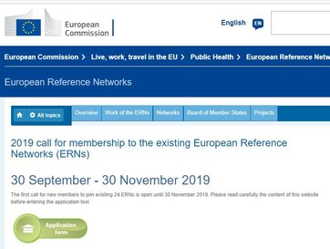 The Call for new members joining European Reference Networks is open until 30th November!