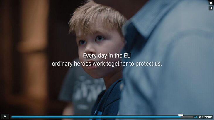 EU protects campaign: Silver award for ERNs video at Cannes Corporate Media & TV Awards!